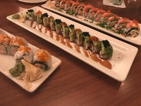 Momiji's delicious sushi