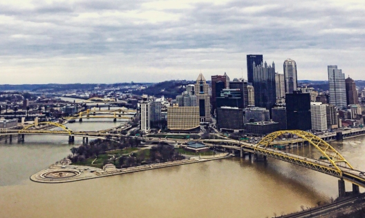 The view from the Duquesne Incline