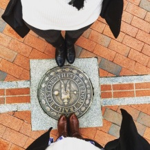 The Freedom Trail marker