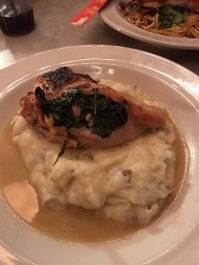 Spinach and Feta stuffed chicken breast from The Paramount