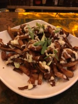 White truffle aioli fries at Wingharts
