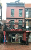 The front of Wingharts