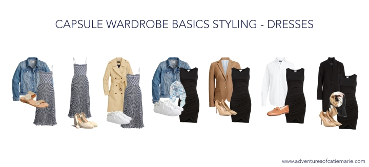 Capsule Basics Styling Graphic - Dresses