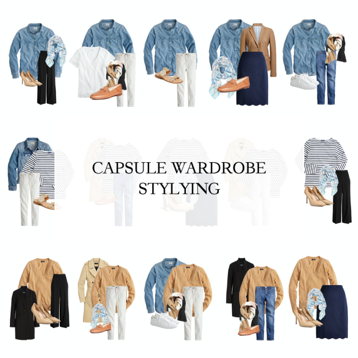 Styling Your Capsule Wardrobe Basics