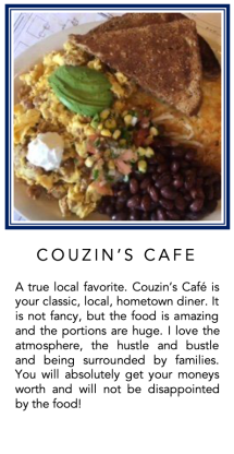 Graphic - Couzins Cafe