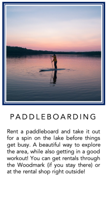 Graphic - Paddleboarding