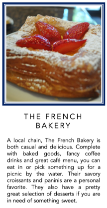 Graphic - The French Bakery