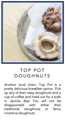 Graphic - Top Pot Doughnuts