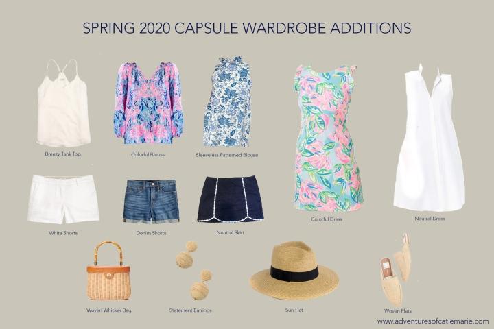 Summer Capsule Graphic